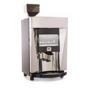 Maisy Moo bean-to-cup coffee in silver